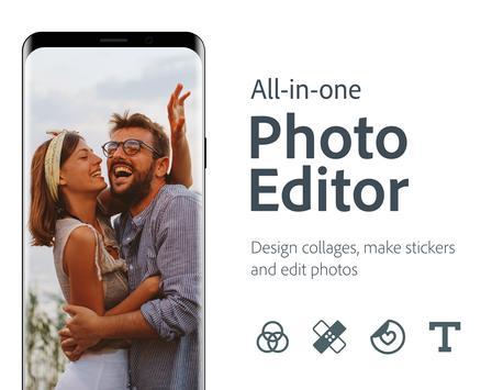 Adobe Photoshop Express:Photo Editor Collage Maker Affiche