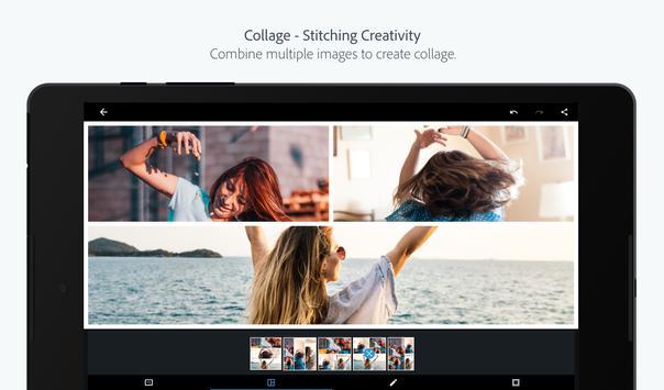 Adobe Photoshop Express:फोटो संपादक कोलाज निर्माता स्क्रीनशॉट 13