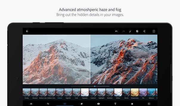 Adobe Photoshop Express:फोटो संपादक कोलाज निर्माता स्क्रीनशॉट 10