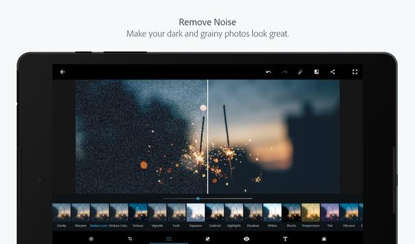 Adobe Photoshop Express:Photo Editor Collage Maker captura de pantalla 10