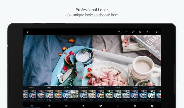 Adobe Photoshop Express:Photo Editor Collage Maker captura de pantalla 11