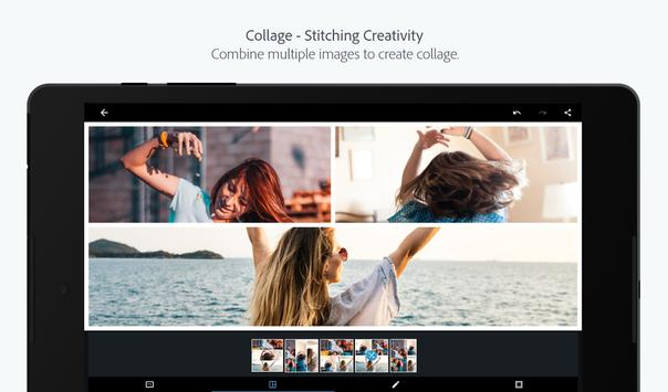 Adobe Photoshop Express:Photo Editor Collage Maker captura de pantalla 13