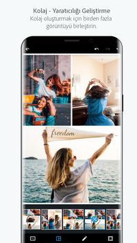 Adobe Photoshop Express: Fotoğraf Kolaj Oluşturma Ekran Görüntüsü 5