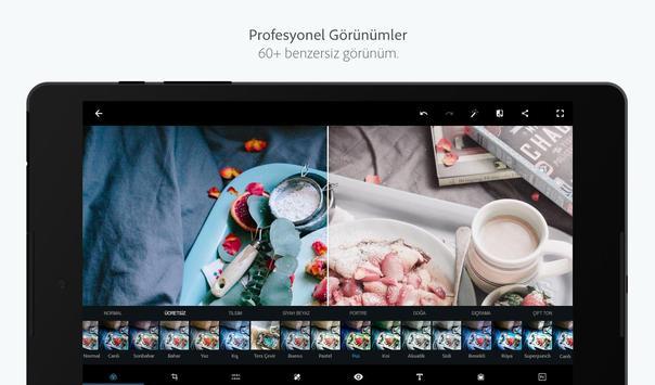 Adobe Photoshop Express: Fotoğraf Kolaj Oluşturma Ekran Görüntüsü 12