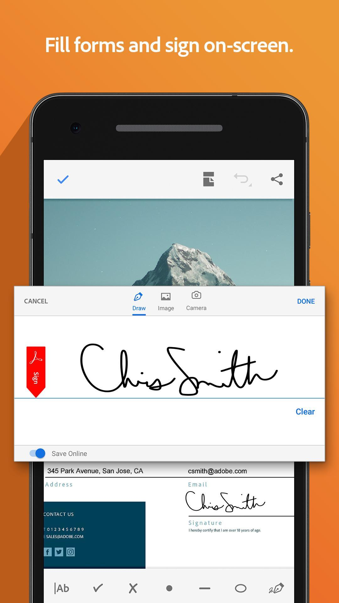 Adobe Acrobat for Android - APK Download
