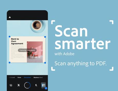Adobe Scan Affiche