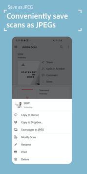 Adobe Scan capture d'écran 1
