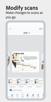 Adobe Scan: PDF Scanner with OCR, PDF Creator poster