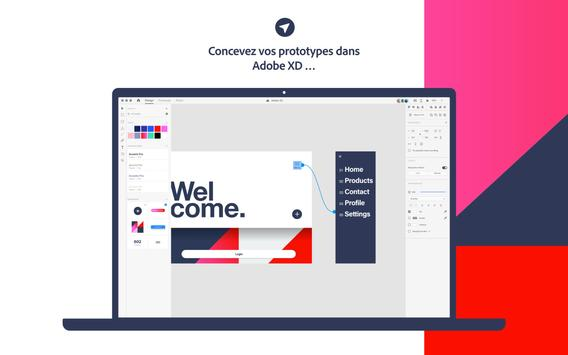 Adobe XD capture d'écran 13