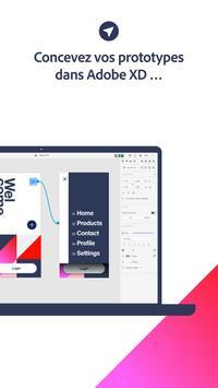 Adobe XD capture d'écran 1