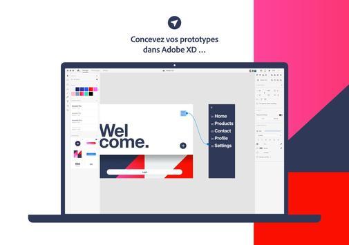Adobe XD capture d'écran 7