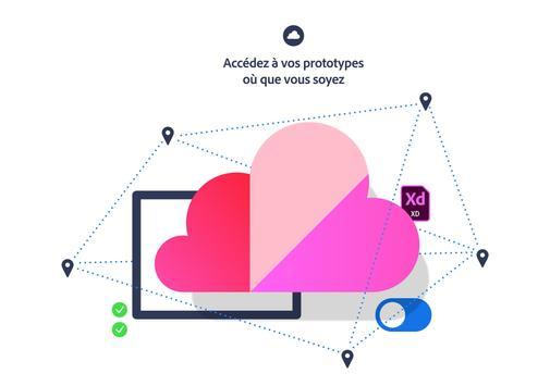 Adobe XD capture d'écran 9