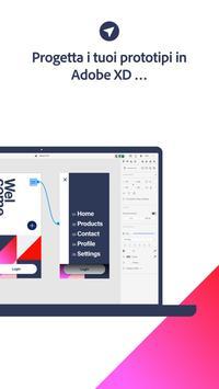 1 Schermata Adobe XD