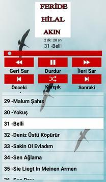 Feride Hilal AKIN Şarkıları screenshot 3