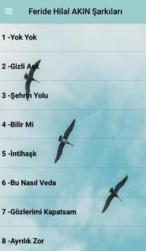 Feride Hilal AKIN Şarkıları poster