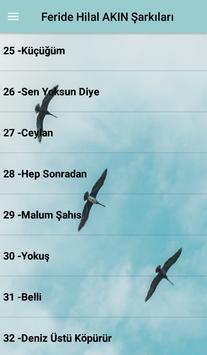 Feride Hilal AKIN Şarkıları screenshot 5