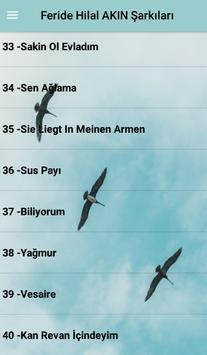 Feride Hilal AKIN Şarkıları screenshot 6