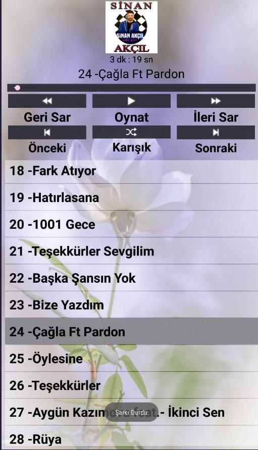 Sinan Akcil Sarkilari For Android Apk Download