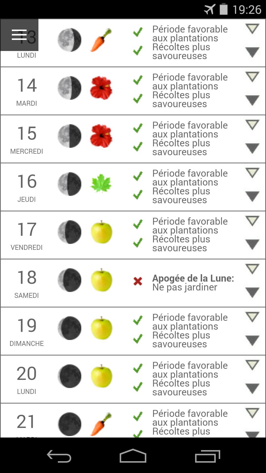 Calendrier Solunaire.Au Calendrier Lunaire For Android Apk Download