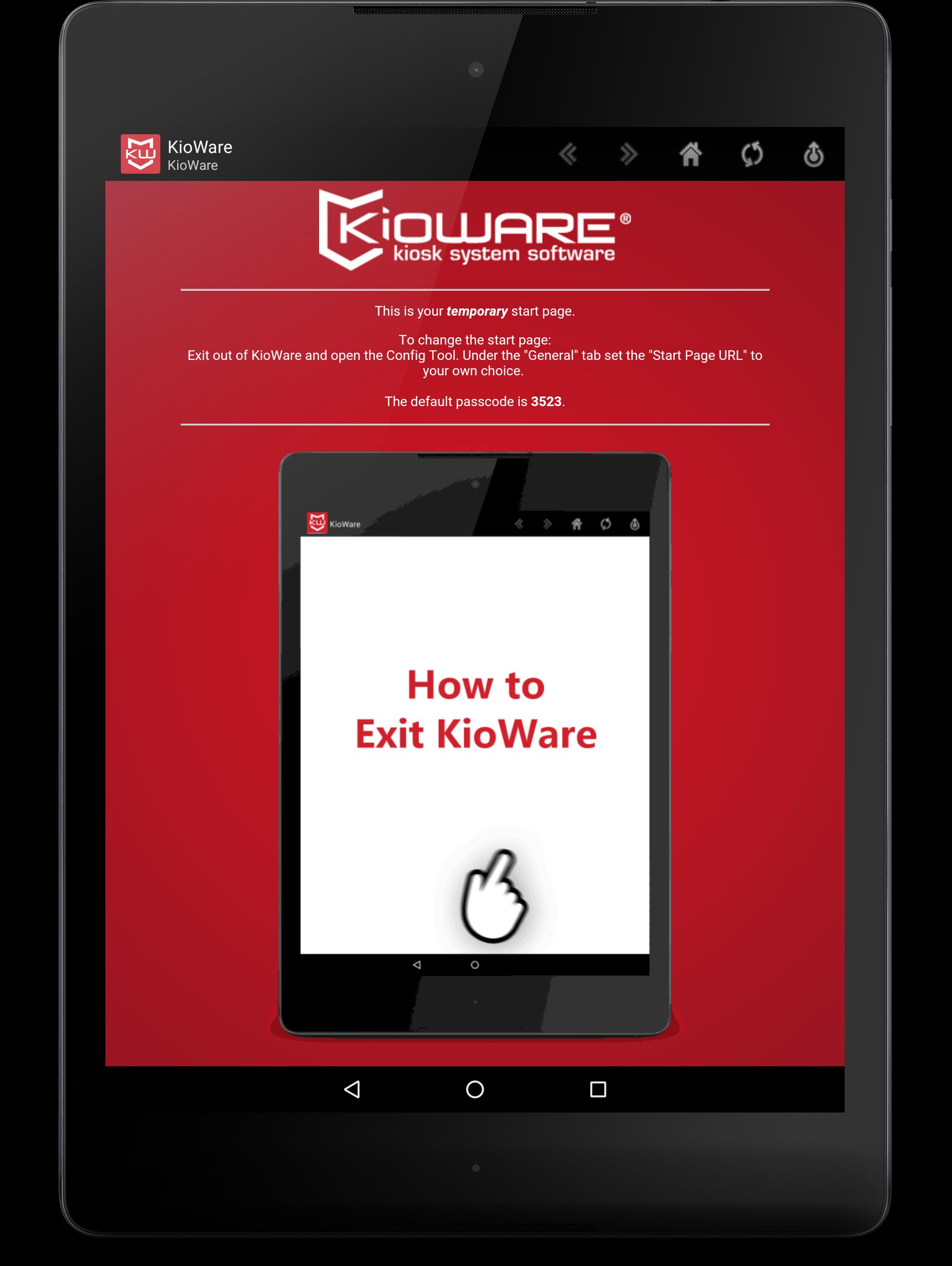 KioWare for Android Kiosk App - Kiosk Software for Android