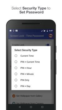 Screen Lock - Time Password screenshot 3