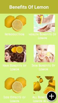 Health Benefits Of Lemon screenshot 1