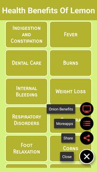 Health Benefits Of Lemon screenshot 2
