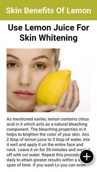 Health Benefits Of Lemon screenshot 3