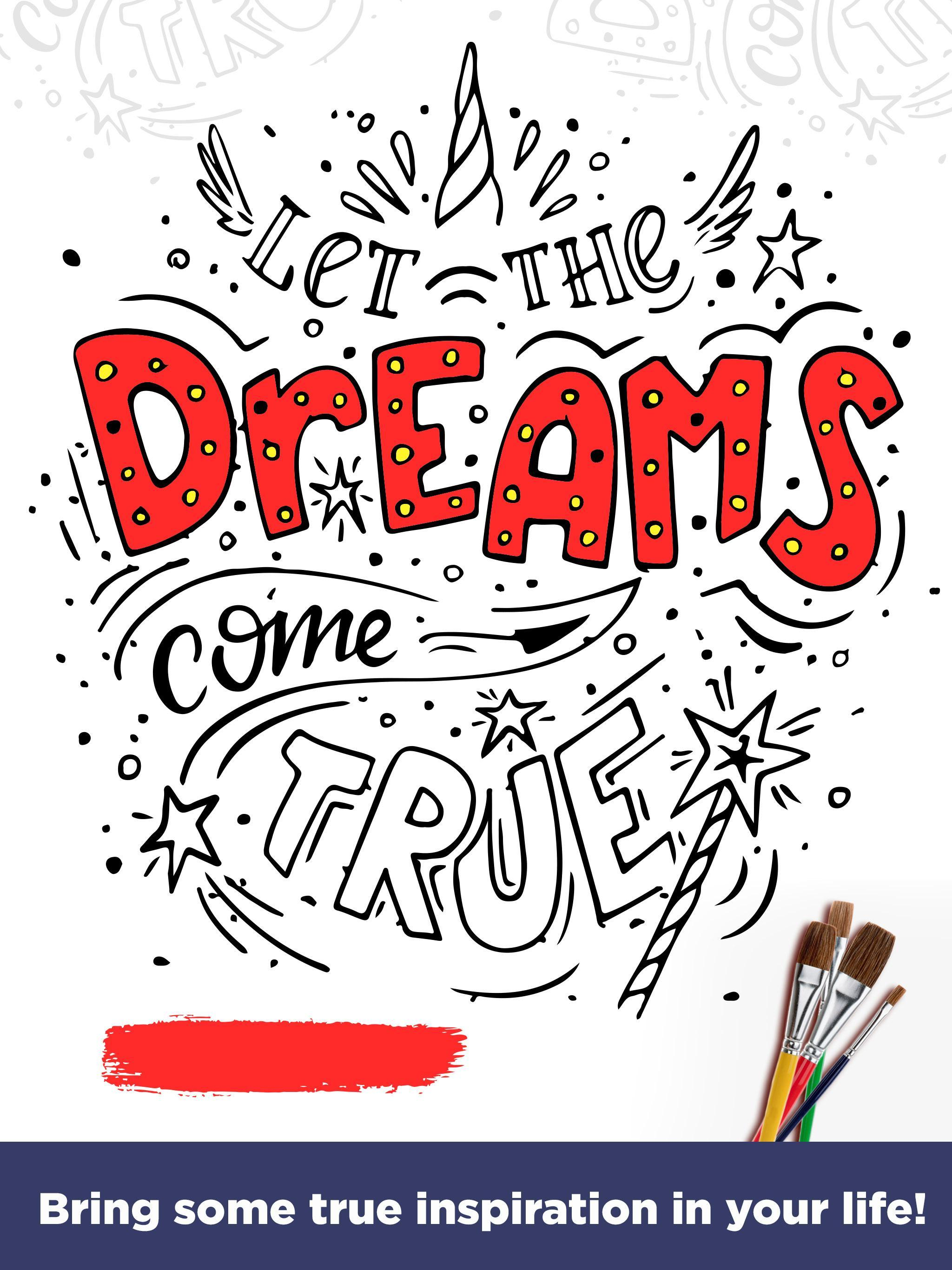 Inspirational Quotes Coloring Pages For Adults For Android Apk Download