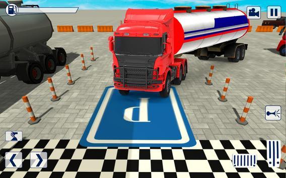 Advance Truck Parking 2019:New Parking Game screenshot 1