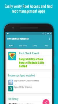 Root/Super Su Checker Free [Root] تصوير الشاشة 1
