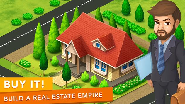 FlippIt! - Real Estate House Flipping Game poster
