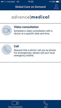 Global Care On Demand for Expats screenshot 1