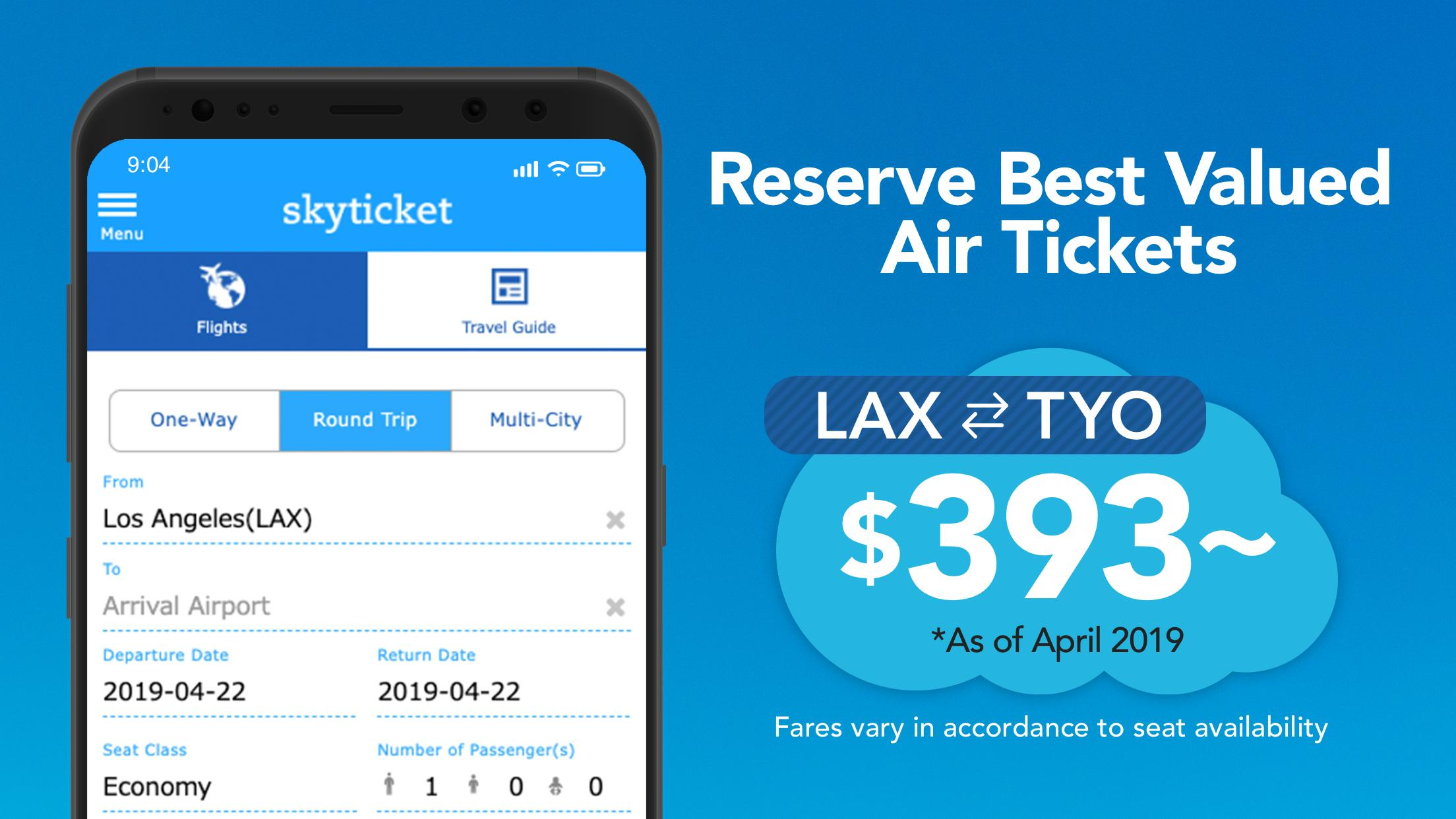 Skyticket Player