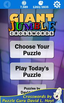 Giant Jumble Crosswords screenshot 10