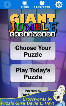 Giant Jumble Crosswords screenshot 5