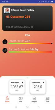 ICF ELECTRICITY MONITOR poster