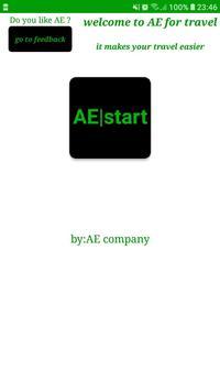 AE for travel screenshot 1