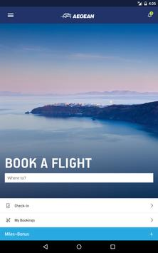 Aegean Airlines скриншот 14