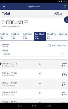 Aegean Airlines скриншот 16