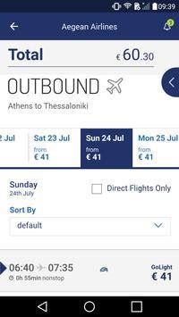 Aegean Airlines скриншот 2