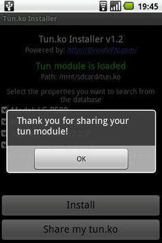 TUN.ko Installer syot layar 3