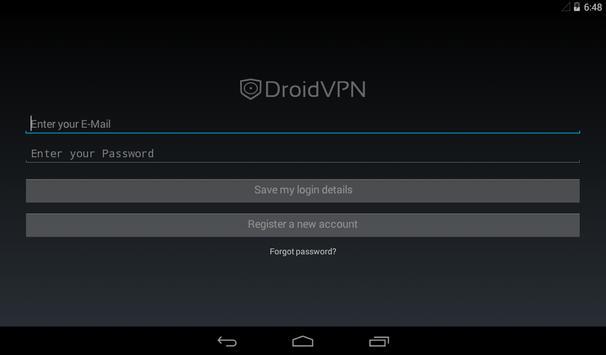 DroidVPN Ekran Görüntüsü 2