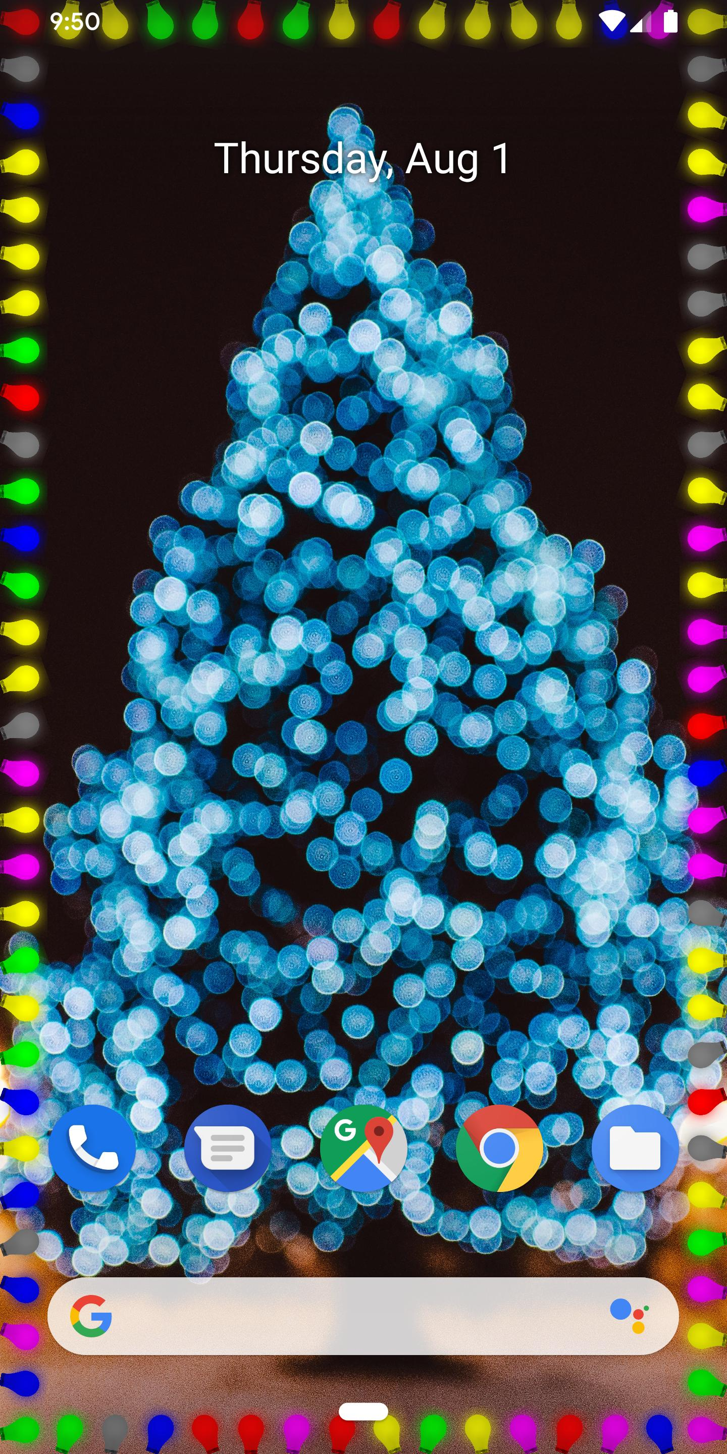 Xmas Edge Live Wallpaper Edge Lighting S10 Note9 For Android Apk Download