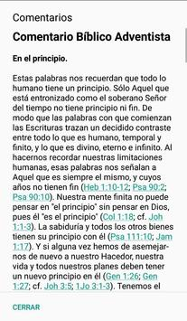 Biblia NRV90 + Comentario Adventista screenshot 2