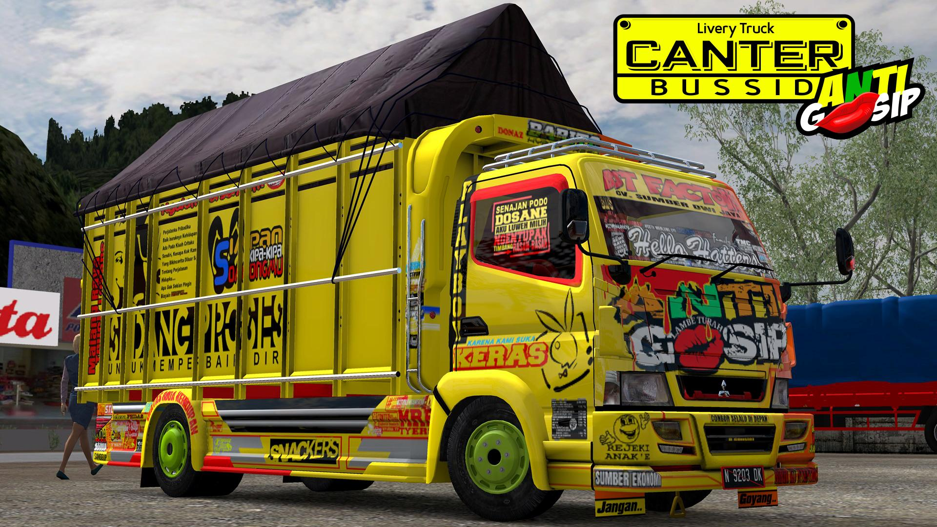 Livery Truck Canter Bussid Anti Gosip For Android Apk Download