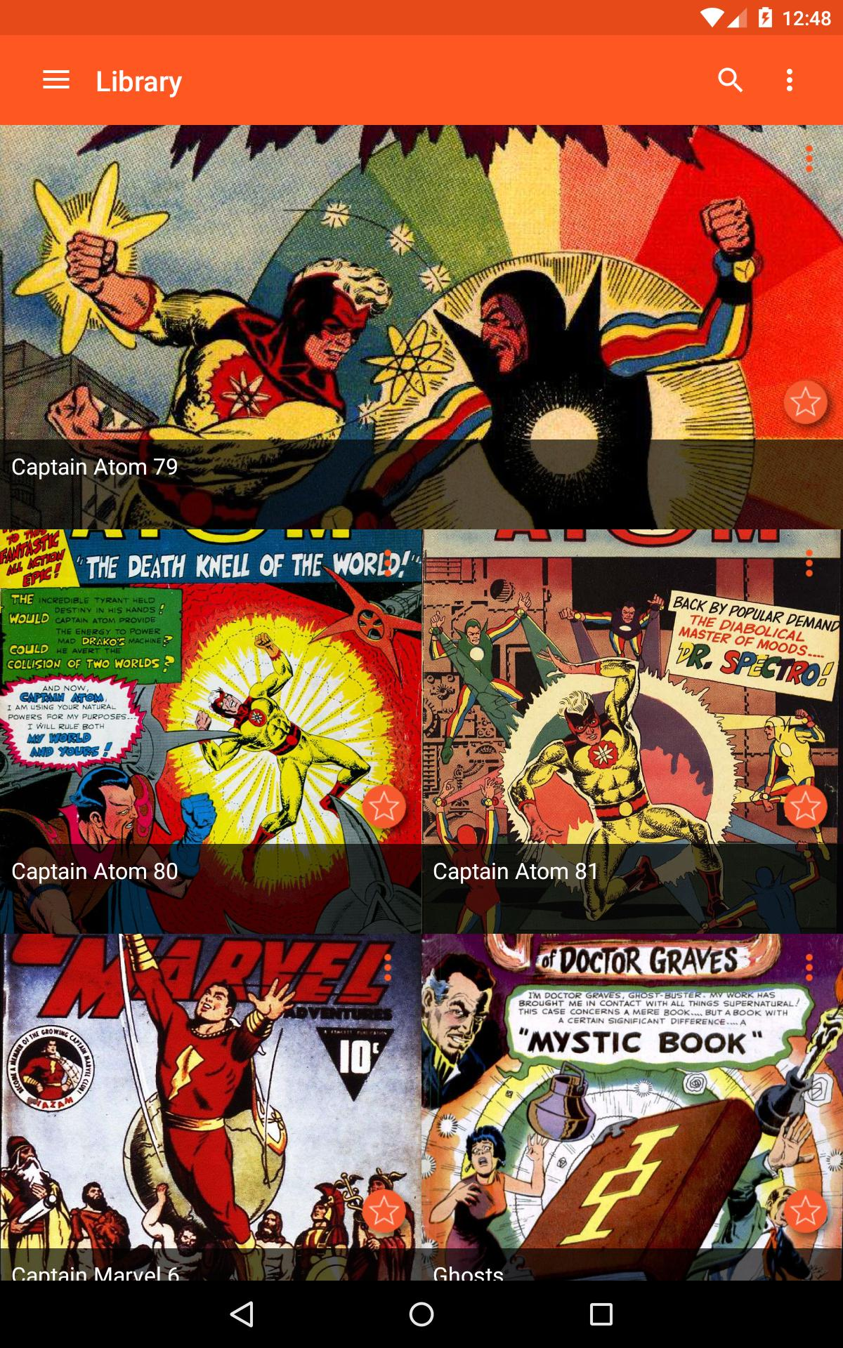 Astonishing Comic Reader for Android - APK Download