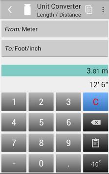 Unit Converter Ekran Görüntüsü 2