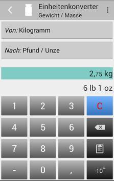 Einheitenkonverter Screenshot 5