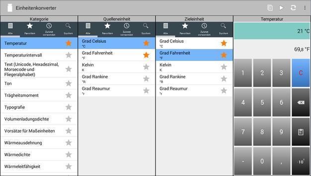 Einheitenkonverter Screenshot 8